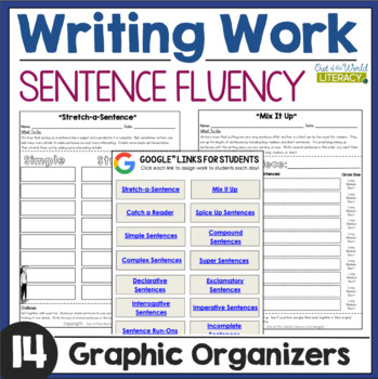Writing Activities: Sentence Fluency