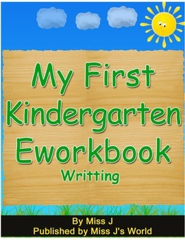 Writing Workbook for Kindergarten