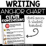 Conclusion Writing Sentences Poster | Anchor Chart