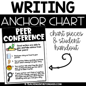 Peer Conference Writing Poster Anchor Chart