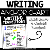Transitions Writing Poster Anchor Chart