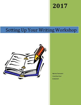 Writing Workshop Back to School Lesson Plan