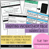 Writing Workshop Bundle - For Daily 5, Literacy, or Early Finishers!