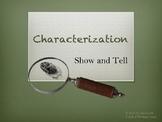 Writing Workshop: Characterization