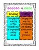 Writing Workshop Charts