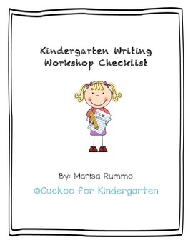 Writing Workshop Checklist