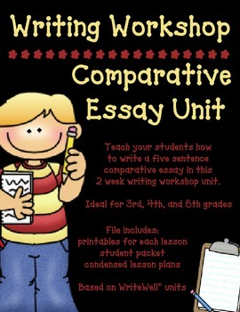 Writing Workshop Comparative Essay Unit