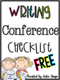Writing Workshop Conference Checklist