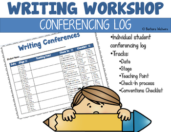 Writing Workshop Conferencing Log
