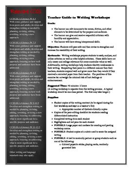 Writing Workshop Kit