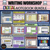 Writing Workshop: DIGITAL Interactive Notebooks BUNDLE