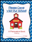Writing Workshop:  Describing My School - A Persuasive Activity Using the Senses