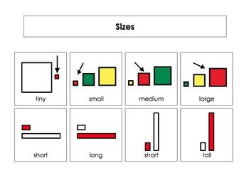 Writing Workshop Describing Words Chart Set #1