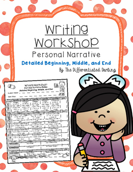 Writing Workshop Detailed Beginning, Middle, and End Rubric