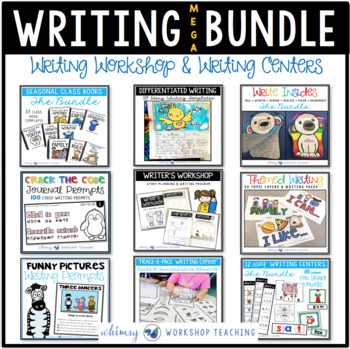 Writing Workshop ENTIRE YEAR BUNDLE (9 Top Writing Program Resources)