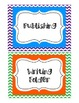 Writing Workshop Folder Labels