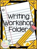 Writing Workshop Folder Resources