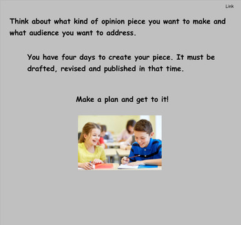 Writing Workshop Gr 3 Changing the World Unit 3 Lessons 1-22