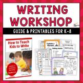 Writing Workshop Guide & Printables K-8
