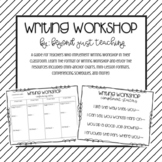 Writing Workshop Guide for Teachers