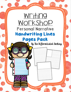 Writing Workshop Handwriting Lines Page Pack