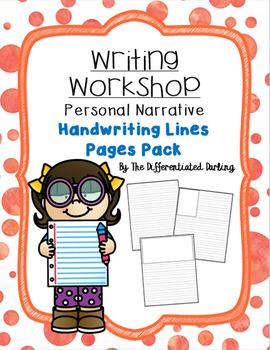 Writing Workshop Handwriting Lines Page Pack