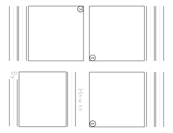 Writing Workshop How-to Book Handout Small Moment Booklet Worksheet