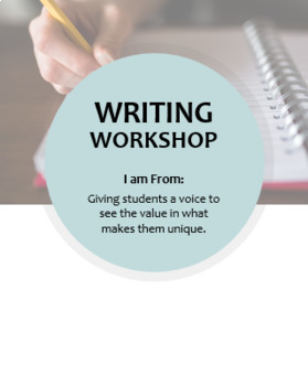 Writing Workshop -- I am From