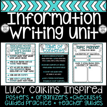 Writing Workshop Informational Writing Lucy Calkins