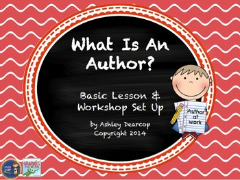 Writing Workshop Introduction & Set Up