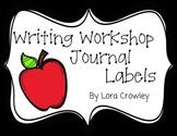 Writing Workshop Journal Labels {FREEBIE}