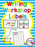 Writing Workshop  Labels