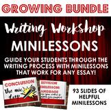 Writing Workshop Minilessons GROWING BUNDLE!!!