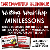Writing Workshop Minilessons GROWING BUNDLE!!! - Distance