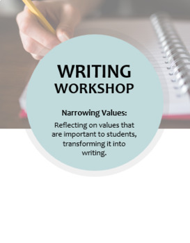 Writing Workshop -- Narrowing Values