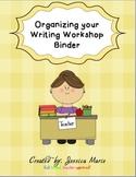Writing Workshop: Organizing a Conferring Binder