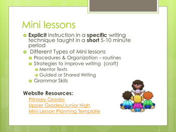 Writing Workshop Overview