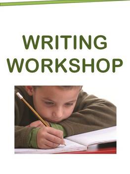 Writing Workshop Pack - Rubrics, Resources, Posters, & More