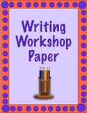 Writing Workshop Paper Templates: Store Various Paper Form