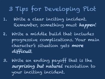 Writing Workshop: Plot