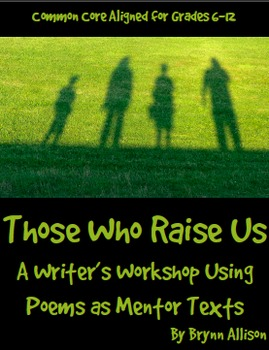 Writing Workshop Poems about Parents as Mentor Texts