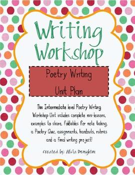 Writing Workshop Poetry Unit - Intermediate Elementary