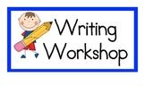 Writing Workshop Procedure