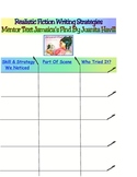 Writing Workshop Realistic Fiction Mentor Text Jamaica's Find Chart