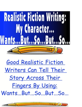 Writing Workshop Realistic Fiction Organize Story Printable Lesson