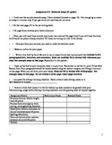 Writing Workshop Research Essay
