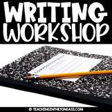 Writer's Workshop Writing Resources (Launching Writing Workshop)