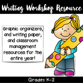 Writing Workshop Resource K-2 classroom