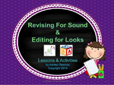 Writing Workshop:  Revising & Editing Lessons & Differenti