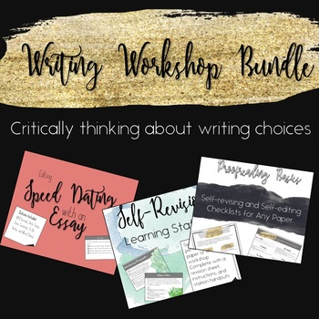 Writing Workshop: Revision and Editing Bundle
